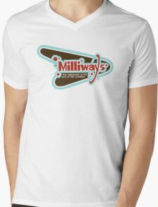 Milliways: the Restaurant at the End of the Universe Mens V-Neck T-Shirt