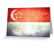 Singapore - Vintage Greeting Card