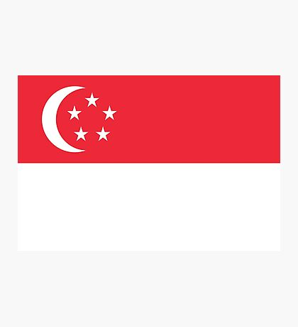Singapore - Standard Photographic Print