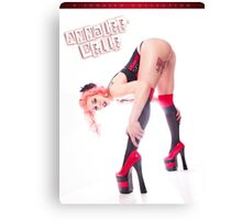 Annalee Belle - Red Ribbon Canvas Print