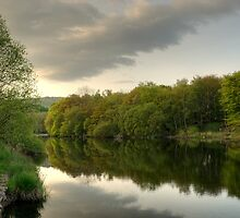 River Leven at Backbarrow by VoluntaryRanger