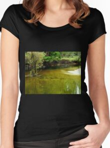 Tranquil Beauty Women's Fitted Scoop T-Shirt