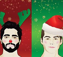 Have A Sterek Christmas by spicywolfette