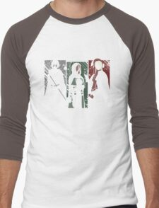 Souls Waifus Men's Baseball ¾ T-Shirt