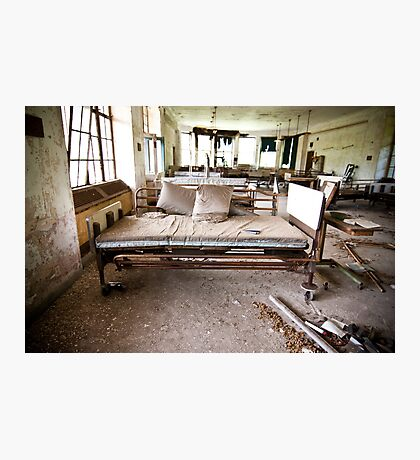 Bed Photographic Print