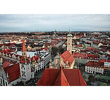 Munich Rooftops Photographic Print
