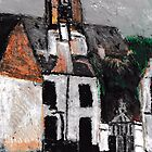 Paris Church(after Utrillo) by RobynLee