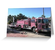 Pink Ribbon Tour Greeting Card