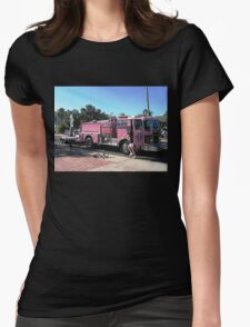 Pink Ribbon Tour Womens Fitted T-Shirt