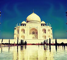 Taj Mahal by Sol Noir Studios
