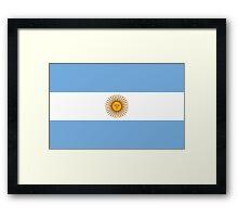 Argentina - Standard Framed Print