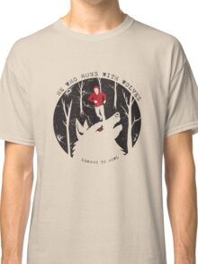He Who Runs With Wolves Classic T-Shirt