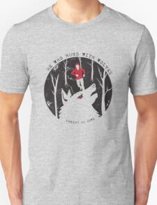 He Who Runs With Wolves Unisex T-Shirt