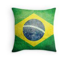 Brazil - Vintage Throw Pillow