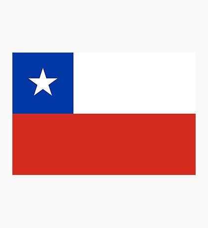Chile - Standard Photographic Print
