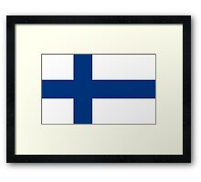 Finland - Standard Framed Print