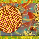 Abstract Spheres in Motion by viennablue