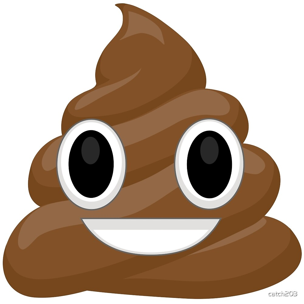 emoticon poop