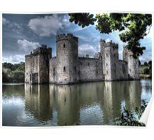 Bodiam Castle - Sussex Poster