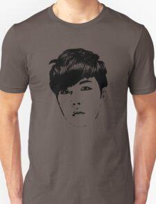 BTS J-Hope Face | Dope | B&W  T-Shirt