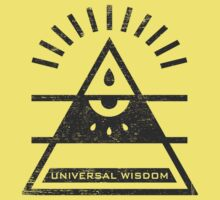 Universal Wisdom - Typography and Geometry Kids Clothes