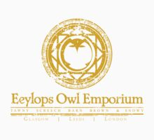 Eeylops Owl Emporium in Yellow Kids Clothes