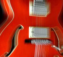 Ibanez AF75 Hollowbody Electric Guitar Zoom Sticker