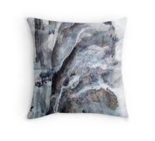 Misty Mountains No.2 Throw Pillow