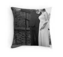 Original Wedding Photography Throw Pillow