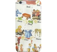 See Dick & Jane's Crazy Quilt.. iPhone Case/Skin