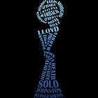US Soccer WNT - World champions - 2015 - blue by Fink76