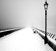 Victorian snow - ogden damn by AttiPhotography