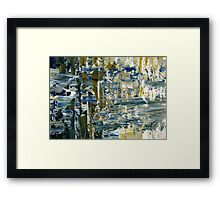 Water is precious Framed Print
