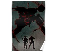 Cornered Fox Poster