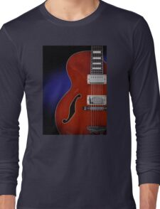 Ibanez AF75 Hollowbody Electric Guitar Front View Long Sleeve T-Shirt