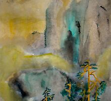 Pines In The Mist by Ava McNamee