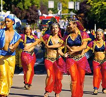 Eugene Celebration Parade by Allan  Erickson