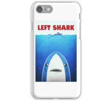 Left Shark Parody - Jaws - Funny Movie / Meme Humor iPhone Case/Skin
