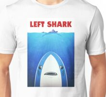 Left Shark Parody - Jaws - Funny Movie / Meme Humor Unisex T-Shirt