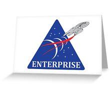 Star Trek NASA Patch Greeting Card