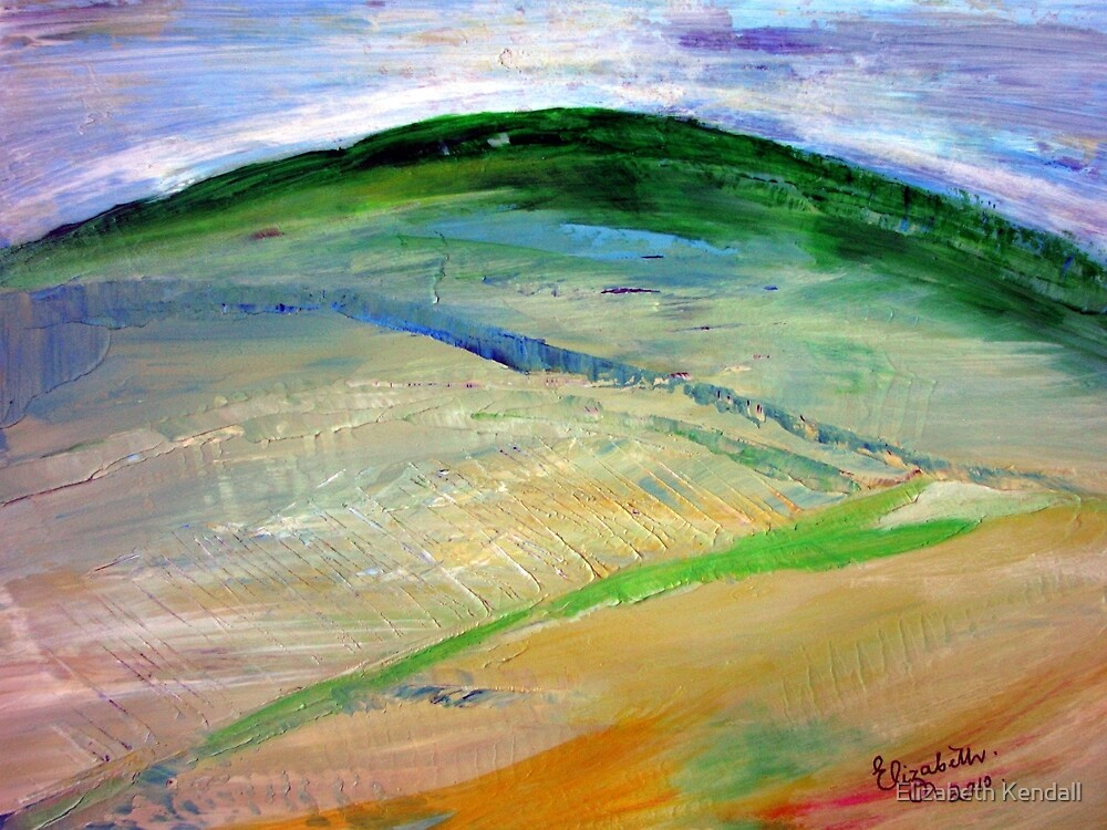 Painting places with a palette knife by Elizabeth Kendall