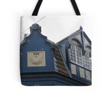 Rooftop Windows 1888 Tote Bag