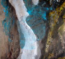Abstract Waterfall by Ava McNamee