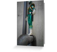 Mighty Morphin Green Ranger Greeting Card