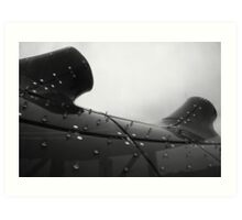 Our proud and modern ocean liner Art Print