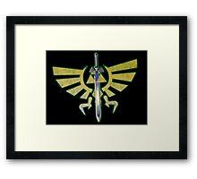 The legend of zelda Triforce Framed Print