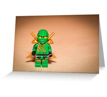 Ninjago Greeting Card