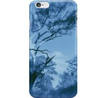 Forest Encounters in Blue iPhone Case/Skin