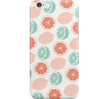 Mixed Fruit - Corals iPhone Case/Skin