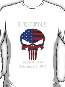 RIP Chris Kyle Memorial, the Legend T-Shirt